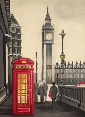 London Big Ben Original by Elena Hrebonkina