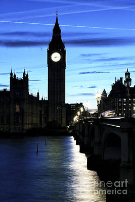 Photograph - London Blues by John Rizzuto
