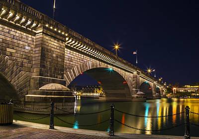Page Bridge Digital Art - London Bridge by Eddie Daniels