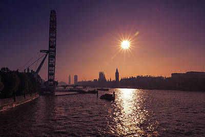 Photograph - London By Night By Day by Matt Malloy