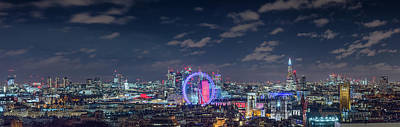 Photograph - London By Night by Stewart Marsden