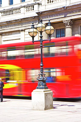Vivid Colour Photograph - London Calling by Betsy Knapp