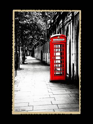 Photograph - London Calling - Classic British Phone Booth by Mark E Tisdale