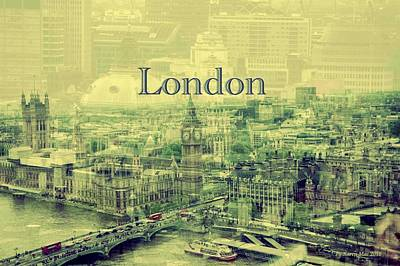 London Calling You Back Art Print