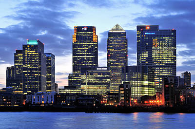 Photograph - London Canary Wharf by Marek Stepan