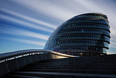 Photograph - London City Hall by Ian Good