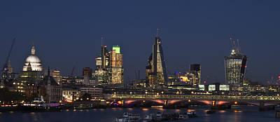 Photograph - London City Skyline by David French