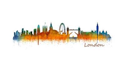 London City Skyline Hq V2 Original by HQ Photo