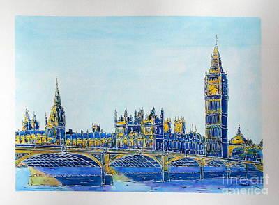 London City Westminster Original by Gracio Freitas