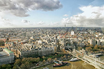 Photograph - London Cityscape by Patricia Hofmeester