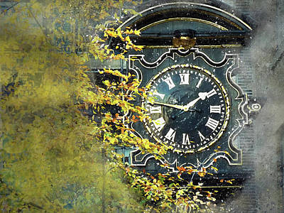 Photograph - London Clock by Judi Saunders