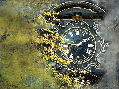 Photograph - London Clock by Judi Saunders