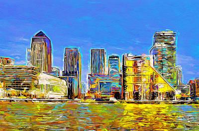 Digital Art - London Colours by Yury Malkov