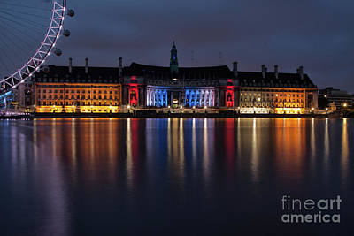 Westminster Photograph - London County Hall by Nichola Denny