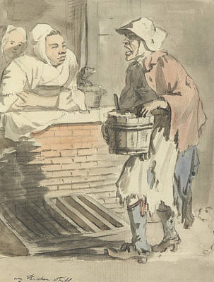 Any Painting - London Cries - Any Kitchen Stuff by Paul Sandby