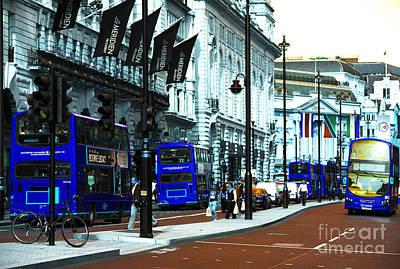 Photograph - London Daze Pop Art by John Rizzuto