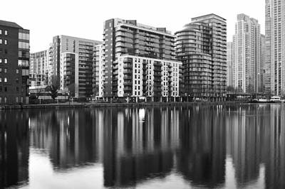 Photograph - London Docklands Skyline by Marek Stepan