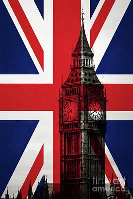 Photograph - London England Big Ben by Edward Fielding