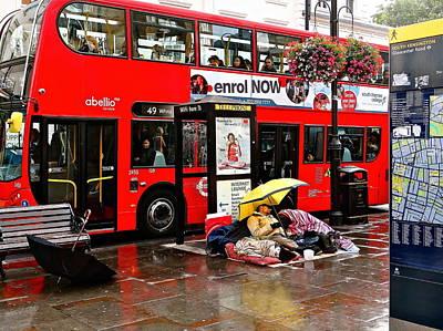 Photograph - London Express by Ira Shander