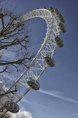 Photograph - London Eye by Christopher Rees