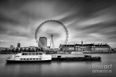 London Eye Original by George Papapostolou