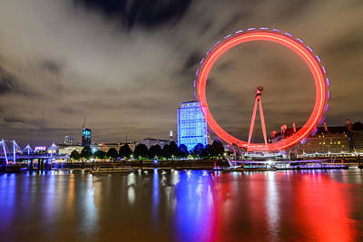 Photograph - London Eye by Ivelin Donchev