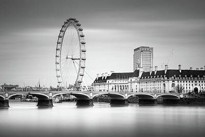 London Eye Art Print by Ivo Kerssemakers