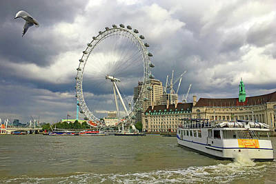 Photograph - London Eye by Jim Pavelle