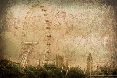 Photograph - London, England - London Eye by Mark Forte
