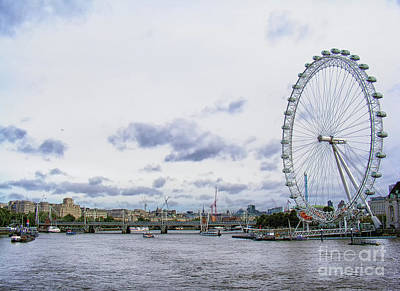 Photograph - London Eye by Nina Ficur Feenan