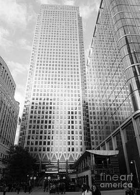Photograph - London Financial Distict by Karina Plachetka