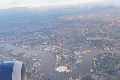 Photograph - London From The Air by David Pyatt