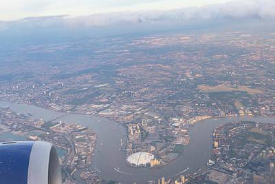 Photograph - London From The Air by David Pyatt