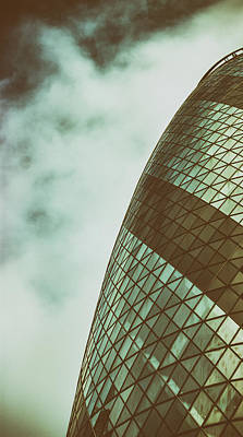 Gherkin Photograph - London Gherkin by Martin Newman