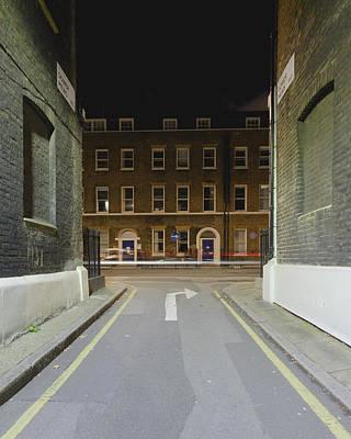 Photograph - London Gower Mews By Night B by Jacek Wojnarowski