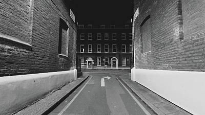 Photograph - London Gower Mews By Night C by Jacek Wojnarowski
