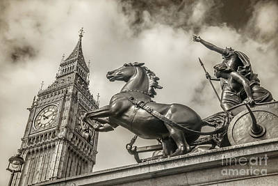 Photograph - London Guardians by Stacey Granger