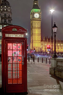 Photograph - London Icons by Rick Mann