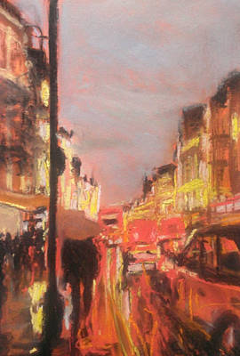 Painting - London Lights by Paul Mitchell
