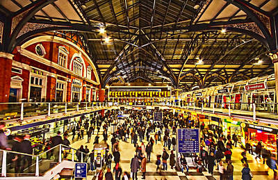 Photograph - London Liverpool Street Station by David French