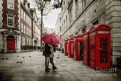 Photograph - London Love by Stacey Granger