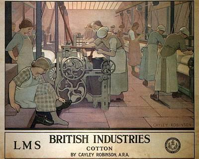 Mixed Media - London Midland And Scottish Railway, British Industries - Retro Travel Poster - Vintage Poster by Studio Grafiikka