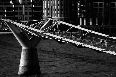 Photograph - London Millennium Footbridge by Dutourdumonde Photography