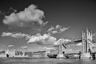 Photograph - London Monochrome by Colin and Linda McKie