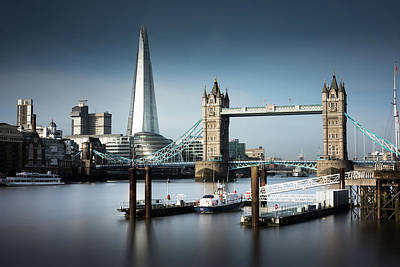 London, Old And New, Color Print by Ivo Kerssemakers