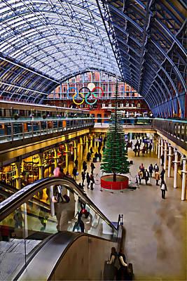 Photograph - London Paddington Station by David French