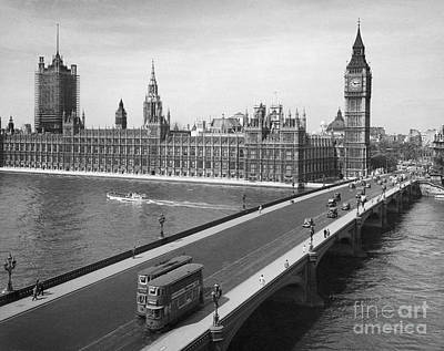 Painting - London: Parliament by Granger