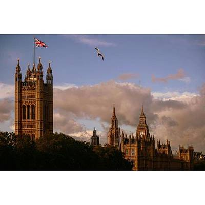 #london #parliamenthouse #westminster Art Print by Ozan Goren