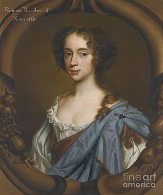 Duchess Painting - London Portrait Of Frances Pierrepont by MotionAge Designs