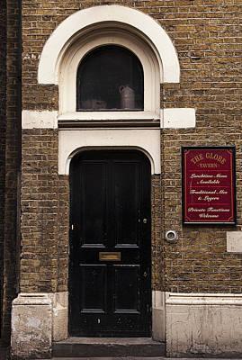England Photograph - London Pub Doorway by Andrew Soundarajan